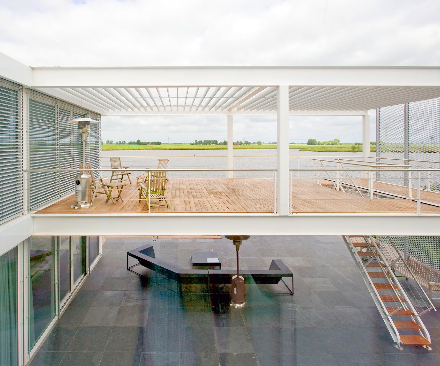 Elegant Lightweight Construction Steel Study House II   Archipelontwerpers    Architectenbureau Den Haag
